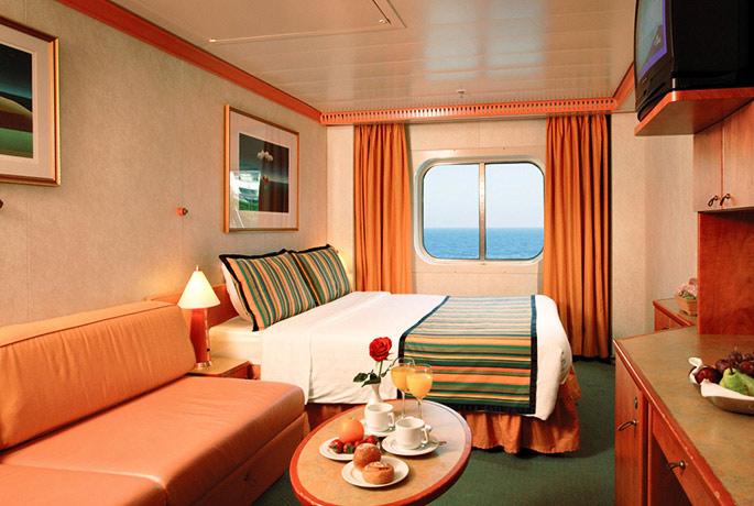 cabina esterna vista mare 1 057 cabine totali di cui 660